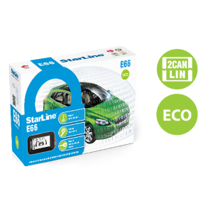 StarLine E66 2CAN+2LIN ECO